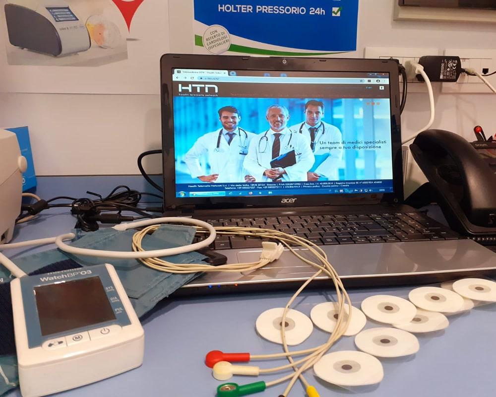Reparto Holter Pressorio   Farmacia porta fiorentina