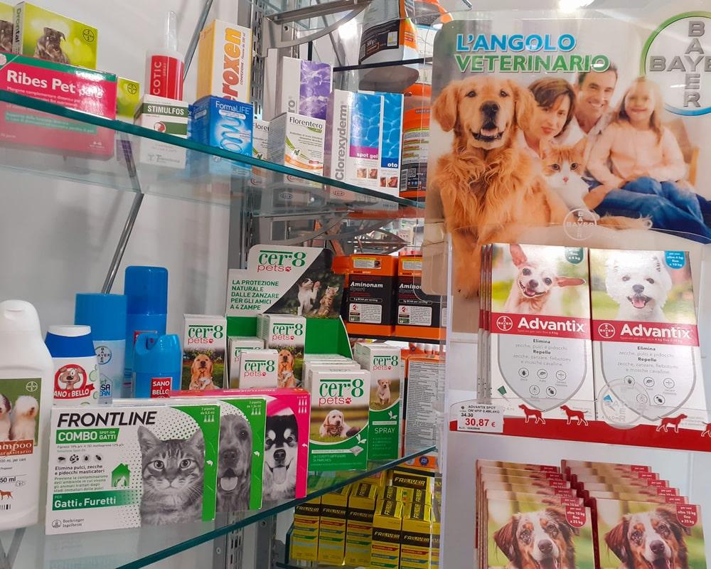 Reparto prodotti veterinari